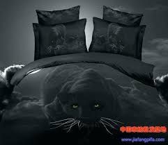 ina panthers twin bedding panther bedding black panther leopard animal print bedding set sets queen size