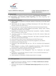 Qtp Testing Resume Software Test Policy Template New Software