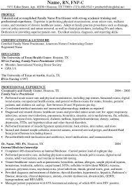 Family Nurse Practitioner Resume Custom Nurse Practitioner Resume Examples Nurse Practitioner Resume Unique