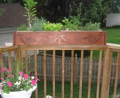 Small Picture Fine Deck Garden Box Planter Bench And Design Ideas