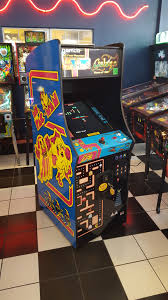 Ms Pacman Cabinet Houston Classic Arcade Video Games Pinballs Coin Op Sales Repairs
