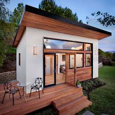 Tiny living and prefab construction collide beautifully in this backyard  guesthouse designed by Bay Area upstart Avava Systems.