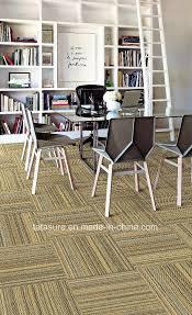 sisal carpet tiles pvc backing jute carpet tiles office carpet wear
