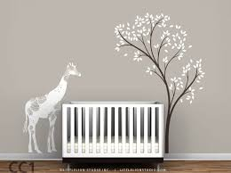 baby nursery tree murals for baby nursery nursery wallpaper murals baby fl giraffe and spring