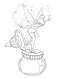 Peter Pan Kleurplaat Inkleuren