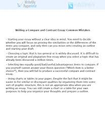 Contrasting Essay Compare And Contrast Essay Tips For Beginners With Examples