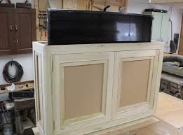 how to build a tv lift cabinet design plans