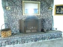 faux rock fireplace rock fireplace mantel lava rock fireplace simple decoration lava rock fireplace painting a