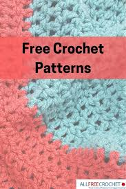 Free Crochet Patterns Magnificent 48 Free Crochet Patterns AllFreeCrochet