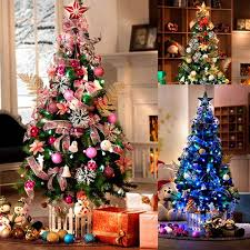 Following are some get this christmas tree decorations pink photo .