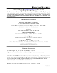 Sample Resume For Compliance Officer Free Resume Templates