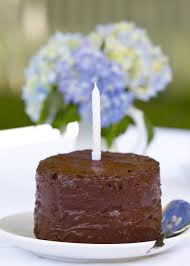 Paleo Chocolate Birthday Cake