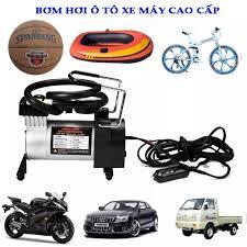 ⭐Bơm lốp ô tô mini toyota - Máy nén khí bơm lốp ô tô bơm xe máy Bơm hơi ô  tô xe máy bản 1 xi lanh công suất lớn - Bơm