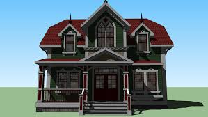 Both are quintessential victorian style homes, but victorian architecture technically refers to the era and not a specific style. Victorian House 3d Warehouse
