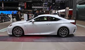 lexus rc f white. no lexus rc f white
