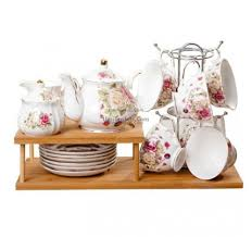 Tea Set Display Stand For Sale Vintage Tea Sets English Bone China Tea Sets UmiTeaSets 46