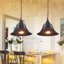 industrial looking lighting. Retro Style Wrought Iron Black Industrial Looking Lighting G