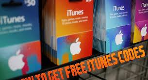 free itunes codes no human verification