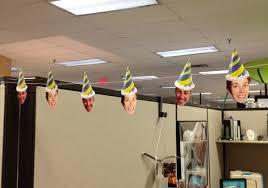 office birthday decoration ideas. Paulette Birthday Heads! Office Decoration Ideas