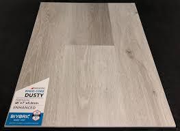 dusty biyork 6mm spc vinyl plank flooring rigid core enhanced