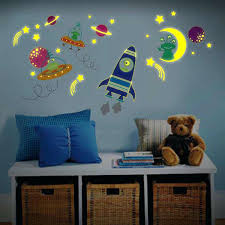 rocket wall decals glow in the dark wall decals glow in the dark wall decals  a