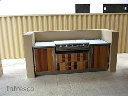 diy outdoor kitchen cabinets outdoor kitchen cabinets magnificent on and chef alfresco kitchens diy outdoor kitchen