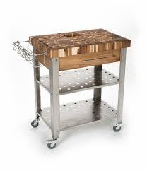 rolling prep cart kitchen carts