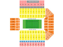 Oklahoma Memorial Stadium Seating Chart Gaylord Family Oklahoma Memorial Stadium Seating Chart