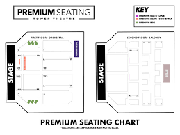 Theatre Of Living Arts Seating Chart Tower Philly