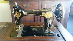 Treadle Sewing Machine Cabinet Antique National Unity Treadle Sewing Machine And Cabinet