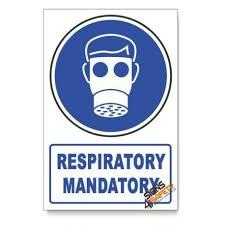 Nosa Sabs Mv2a D1 Respiratory Protection Descriptive Safety Sign Mv2a D1 Online South Africa