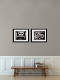 rustic kitchen print or canvas art set black and white kitchen art set of 2 on black and white wall art sets with bathroom art prints black and white home is best place to return