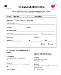 pie order form template pink take out menu cake pop order form template bakery updrill co