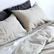 grey linen duvet cover grey linen duvet cover nz