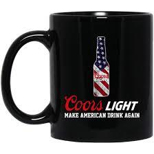 Coors Light Coffee Mug Amazon Com Coors Light Make American Drink Again 11 Oz