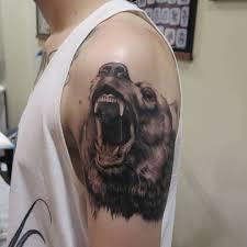 тату медведь со значением 100 лучших идей и вариантов на фото