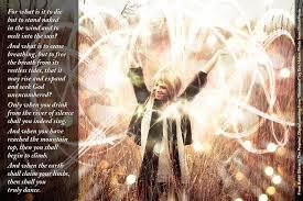 Kahlil Gibran The Prophet On Death