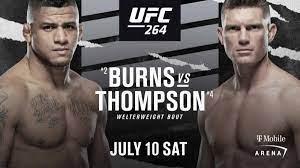 Gilbert Burns vs Stephen Thompson ...