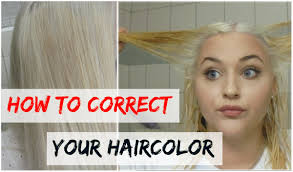 How To Correct Your Haircolor With A Bleach Wash  YouTubeHow To Wash Colors With Bleach