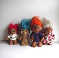Troll Dolls Russ Trolls Dam Trolls Doll Mixed Lot 70s 80s Set