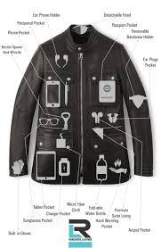 leather zip motorcycle jacket