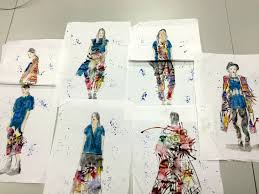 Selection Fashion Design Contest Line Up Selection Five Outfits Are Selected For