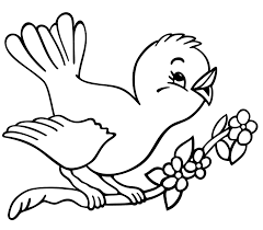 Free Printable Coloring Pages Of Birds And Flowers Bird Coloring