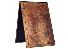 A Frame Display Stands Copper A Frame Tabletop Display Stands Impact Custom Menus 65