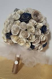 Paper Flower Bouquet For Wedding Paper Flower Bouquet Wedding Alternative Bouquet Wedding