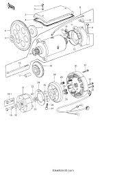 kawasaki kz kza generator starter motor starter 1978 kawasaki kz1000 kz1000a generator starter motor starter clutch parts best oem generator starter motor starter clutch parts for 1978 kz1000