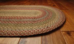 area rugs lovely round runner rug on braided oval clearance primitive with stars wool country whole barn star dining room