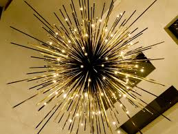 Colored Contemporary Chandeliers for Foyer