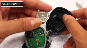 How To Replace Chevrolet Venture Key Fob Battery 1999 - 2000 - YouTube