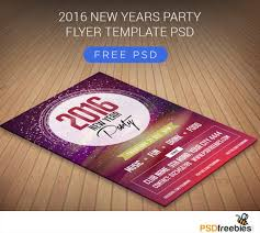 new years party flyer psd psd print template <p> 2016 new years party flyer psd the happy new year flyer template is a beautiful and visually stunning new year flyer that can be used to